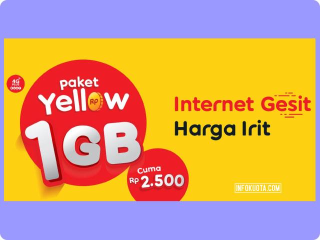 Cara Daftar Paket 2000 1GB Indosat Lewat SMS